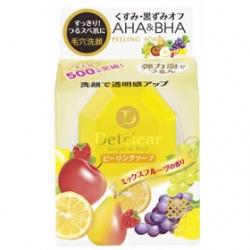 MEISHOKU 明色 洗卸系列-Detclear煥膚角質潔面皂
