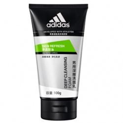 adidas 愛迪達 男性保養淨透控油系列-淨透控油深層洗面乳