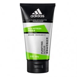adidas 愛迪達 男性保養淨透控油系列-淨透控油磨砂潔膚膏