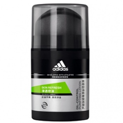 adidas 愛迪達 男性保養淨透控油系列-淨透控油爽膚保濕凝乳
