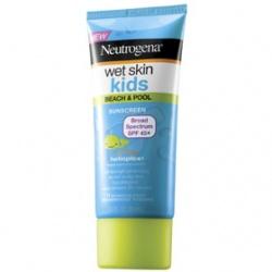 Neutrogena 露得清 寶寶身體保養-水肌因兒童濕膚防曬乳SPF45+