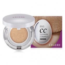 L`EGERE 蘭吉兒 蛋肌美人系列-蛋肌CC水感氣墊粉餅SPF50/PA+++