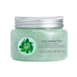 The Body Shop 美體小舖 富士山綠茶淨化沐浴保養系列-富士山綠茶淨化沐浴茶凍