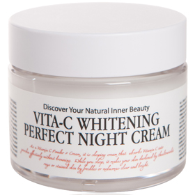 Chamos 卡莫斯 乳霜-深層美白晚安凍膜 Vita-C Whitening Perfect Night Cream
