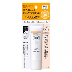 Curel 珂潤 UV浸潤保濕防曬系列-潤浸保濕防曬乳霜SPF30/PA++(臉部用)