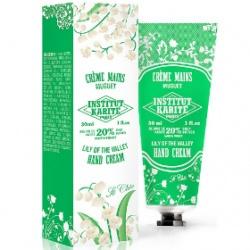Institut Karite Paris 巴黎乳油木 手部保養系列-乳油木鈴蘭百合護手霜【10週年限量紀念款】 Shea Hand Cream So Chic  Lily of the Valley