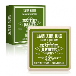 Institut Karite Paris 巴黎乳油木 身體清潔系列-乳油木檸檬馬鞭草皂 Shea Soap Lemon Verbena