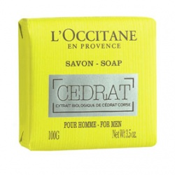 L'OCCITANE 歐舒丹 男士枸櫞香氛系列-枸櫞沐浴皂