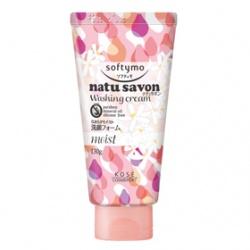 Softymo 絲芙蒂 洗顏-純淨植物洗面乳(水嫩型) NATUSAVON WASHING CREAM(MOIST)
