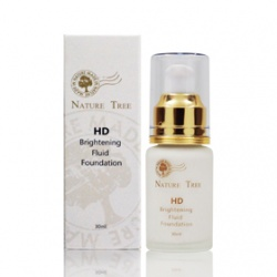Nature Tree 妝前‧打底(臉‧眼)-HD無瑕修飾霜 HD Brightening Fluid Foundation