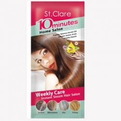St.Clare 聖克萊爾 護髮-10分瞬效溫塑膜髮帽 10 minutes Home Salon Hair Pack
