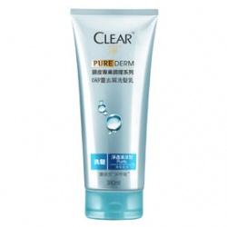 Clear 淨 洗髮-PURE DERM頭皮專業調理0矽靈去屑洗髮乳(淨透清涼)