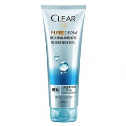 Clear 淨 WOMEN-PURE DERM頭皮專業調理髮膜精華護髮乳(淨透清涼)