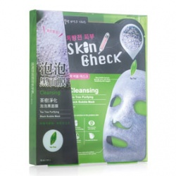 Skin Check 清潔面膜-茶樹淨化泡泡黑面膜 Tea Tree Purifying Black Bubble Mask