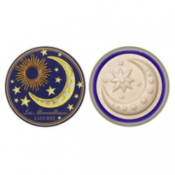Les Merveilleuses LADUREE Base底妝系列-日月星辰綻光蜜粉餅 SHIMMER PRESSED POWDER