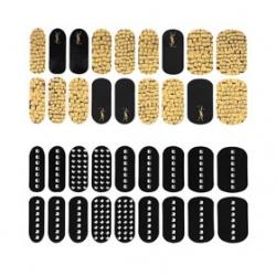 YSL 聖羅蘭  指甲-時尚金屬鉚釘美甲貼(限量)