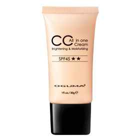 OGUMA 水美媒 3D彩妝系列-3D多效合一水感CC霜SPF45★★ ALL IN ONE CC CREAM SPF45★★