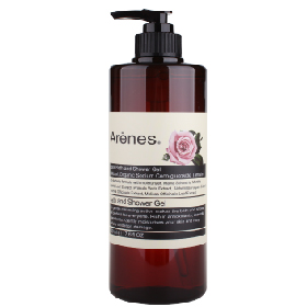 Arenes 阿爾卑斯玫瑰系列-玫瑰香氛植萃沐浴露 Rose Bath and Shower Gel