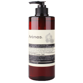 Arenes 紅石榴系列-紅石榴香氛植萃沐浴露 Pomegranate Bath and Shower Gel
