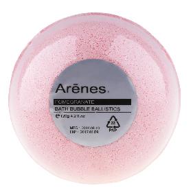 Arenes 沐浴球系列-紅石榴香氛植萃沐浴球 Pomegranate Bath Bubble Ballistics