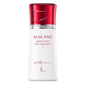 SOFINA 蘇菲娜 ALBLANC潤白美膚系列-潤白美膚盈透UV防護乳升級版SPF50+/PA++++(II)