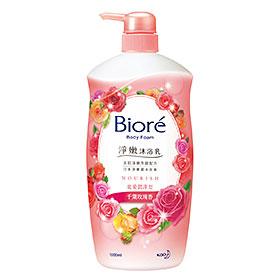 Biore 蜜妮 沐浴清潔-淨嫩沐浴乳寵愛潤澤型(千葉玫瑰香)