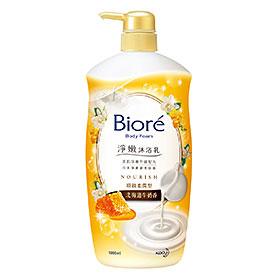Biore 蜜妮 沐浴清潔-淨嫩沐浴乳頂級柔潤型(北海道牛奶香)