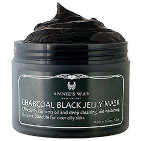 Annie`s Way 果凍面膜系列-碳元素瓷淨果凍面膜 Charcoal Black Jelly Mask