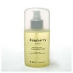 K&D 珂丹 洗顏-覆盆子水果潔顏晶露 Raspberry Refreshing Cleansing Foam