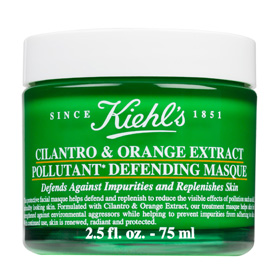 KIEHL`S 契爾氏 保養面膜-香珂草甜橙淨化面膜 CILANTRO & ORANGE EXTRACT POLLUTANT DEFENDING MASQUE