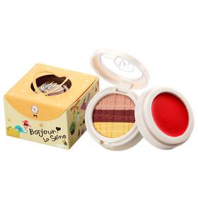 WinkO Cosmetics 葳珂彩妝 眼影-日安塞納河妝點午茶系列 Bonjour! La Seine! Cake Lover's Festival