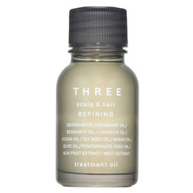 THREE 護髮-極致絲潤精華 Scalp & Hair Refining Treatment Oil