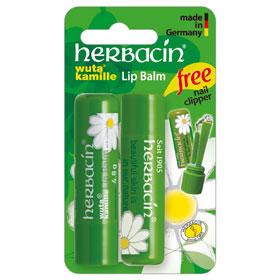 herbacin 德國小甘菊 臉部護理-小甘菊經典修護唇膏