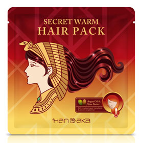 HANAKA 花戀肌 護髮-摩洛哥溫感修護護髮膜