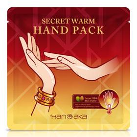 HANAKA 花戀肌 手部保養-摩洛哥溫感修護手膜