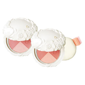 SHISEIDO資生堂-專櫃 頰彩‧修容-恬蜜花漾雙色頰彩