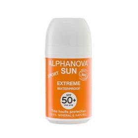 Alphanova 艾蘿若華 寶寶身體保養-天然滾珠防曬乳SPF50+(抗汗防水) sun bio roll on SPF50+