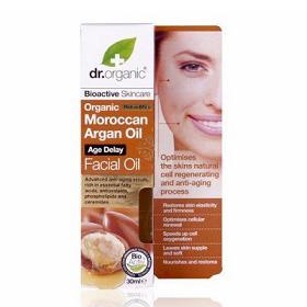 dr. organic 丹霓珂 精華‧原液-摩洛哥堅果全效喚顏精華 Moroccan Argan Oil Facial Oil
