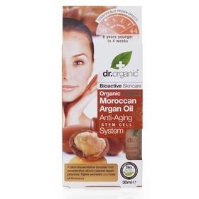dr. organic 丹霓珂 精華‧原液-摩洛哥堅果逆齡精萃 Moroccan Argan Oil Anti-Aging Stem Cell System