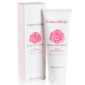 Crabtree & Evelyn 瑰珀翠 洗顏-玫瑰喚膚泡沫洗面乳 Damask Rose Daily Cleansing Foam