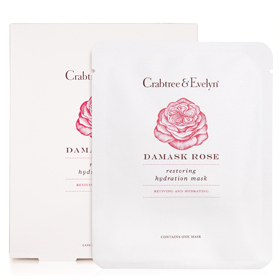 Crabtree & Evelyn 瑰珀翠 保養面膜-玫瑰喚膚重建保濕面膜  Damask Rose Restoring Hydration Mask