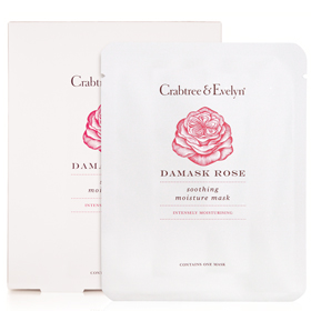 Crabtree & Evelyn 瑰珀翠 保養面膜-玫瑰喚膚養顏修復面膜 Damask Rose Soothing Moisture Mask