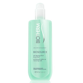 Biotherm 碧兒泉 臉部卸妝-礦泉爽膚卸妝乳 BIOSOURCE Purifying & Make-up Removing Milk - Normal/Combination Skin