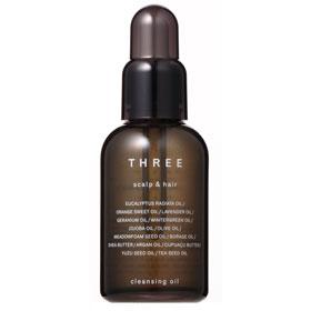 THREE  頭皮護理-極致淨化晶摩油 SCALP & HAIR CLEANSING OIL