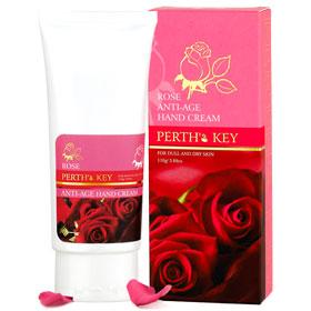 PERTH'S KEY 栢司金 手部保養-防老化玫瑰護手霜