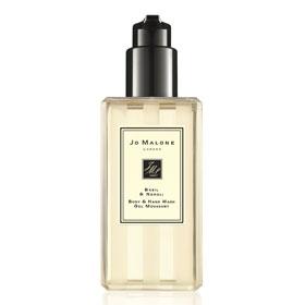 JO MALONE  沐浴清潔-羅勒與橙花純露手部和身體沐浴凝膠