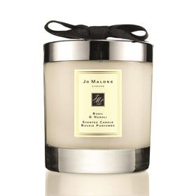 JO MALONE 香氛工藝蠟燭系列-羅勒與橙花純露居室香氛工藝蠟燭