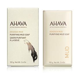 AHAVA 愛海珍泥 沐浴清潔-愛海珍泥淨化皂 PURIFYING MUD SOAP