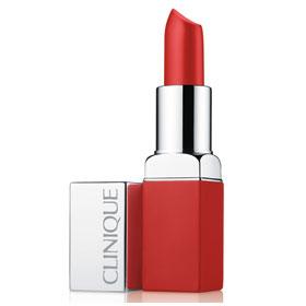 CLINIQUE 倩碧 唇膏-紐約普普柔霧唇膏 Pop Matte matte lip colour + primer