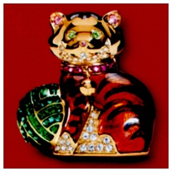 Estee Lauder 雅詩蘭黛 固體香精系列-美麗優雅貓固體香精 Beautiful Kitten